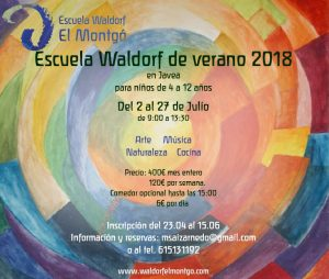 Escuela de verano - www.waldorfelmontgo.com