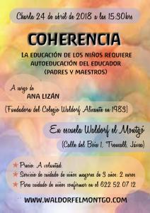 Charla coherencia - www.waldorfelmontgo.com