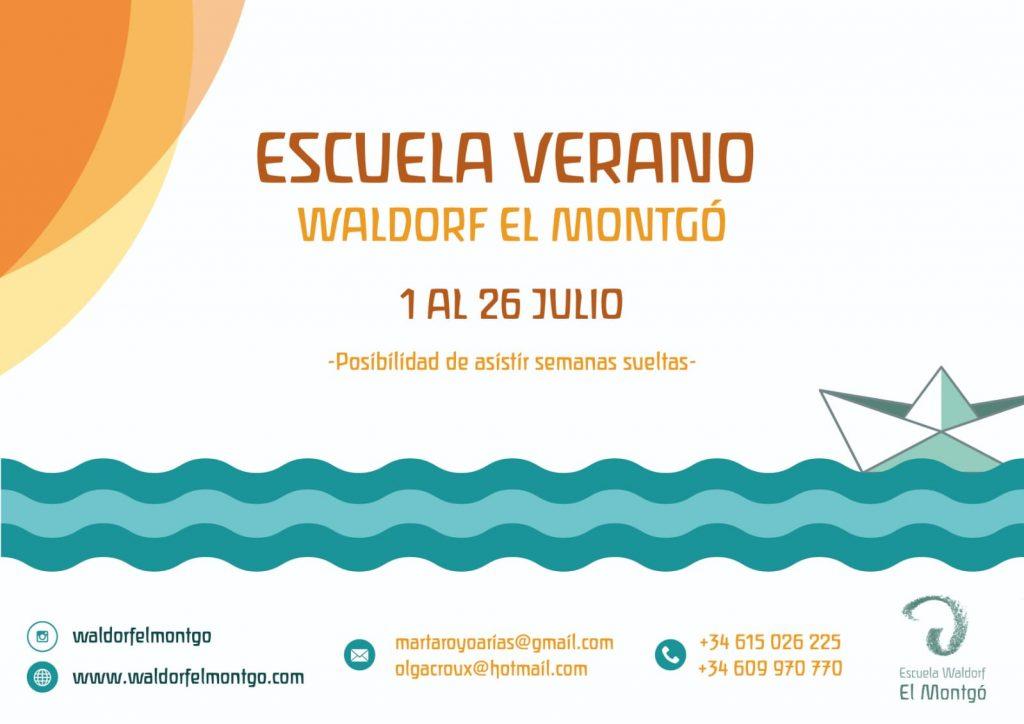Escuela de verano 2019 Waldorf el Montgo