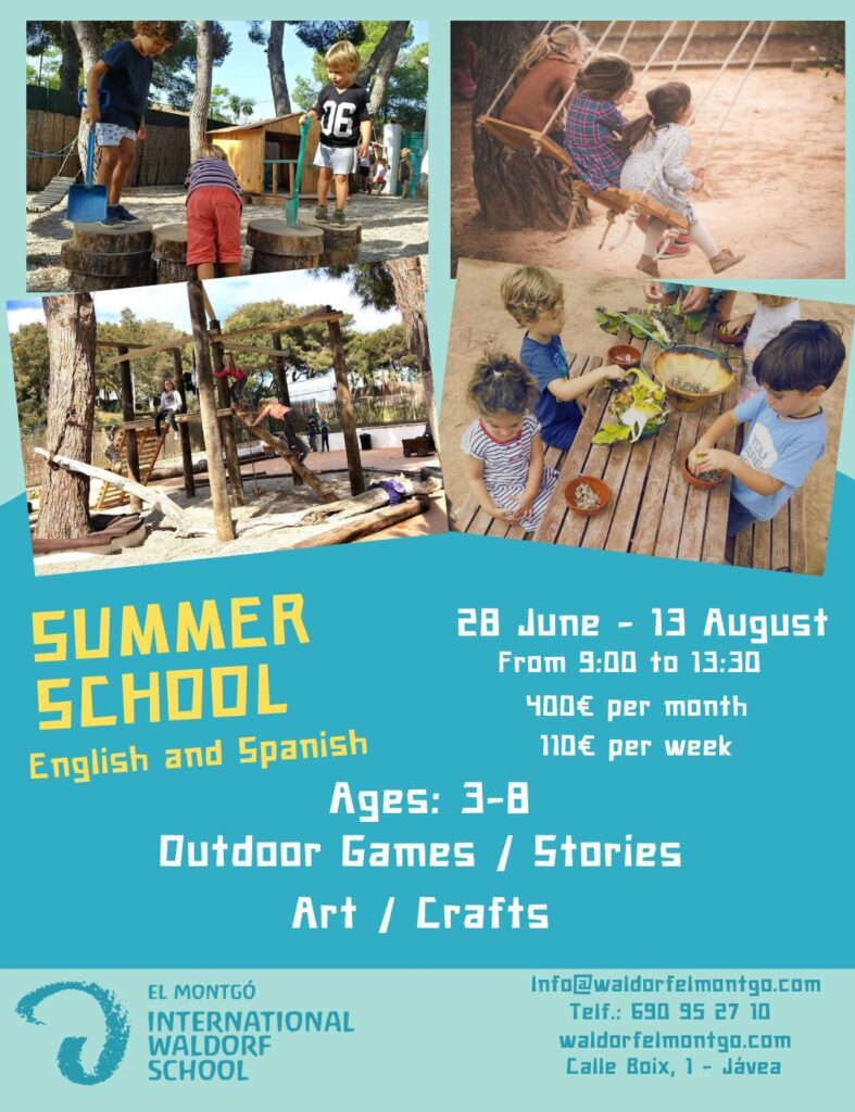 Summer School 2021 Javea - Waldorf